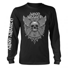 AMON AMARTH - Grey Skull -  LS