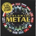 WORLDWIDE METAL - Compilation - 5-CD+PC Game