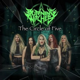 BURNING WITCHES - The Circle Of Five - Mini LP Sparkle