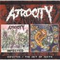 ATROCITY - Infected / The Art Of Death - CD