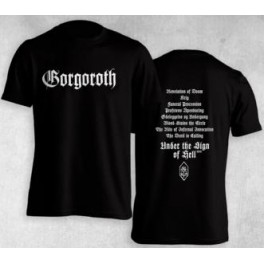 GORGOROTH - Logo/Under The Sign 2011 - TS
