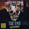 MOTLEY CRUE - The End - Live In Los Angeles- 2-LP Color + DVD Gatefold