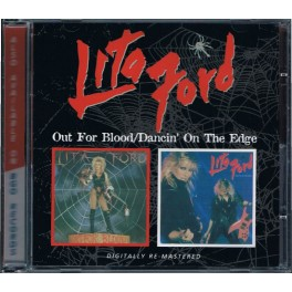 LITA FORD - Out For Blood / Dancin'On The Edge - CD Fourreau
