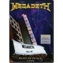 MEGADETH - Rust In Peace - LIVE - BLU RAY