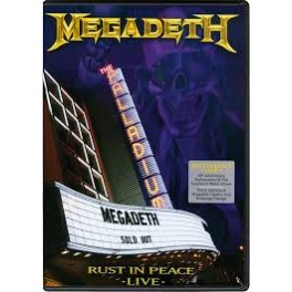 MEGADETH - Rust In Peace - LIVE - BLU RAY
